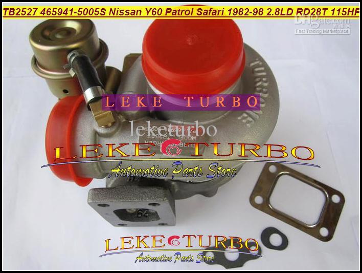 TB2527 465941-0005 465941-5005S 452022-0001 465941 452022 14411-22J01 turbo turbina para NISSAN patrulha safári TD Y60 1991-97 RD28T 2.8L D