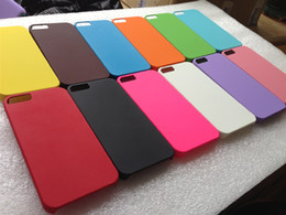 Wholesale Iphone Hard Case Price - Luxury colourful Hard plastic PC case matte Grind arenaceous back cover case for iphone 5 factory price 200pcs DHL free shipping