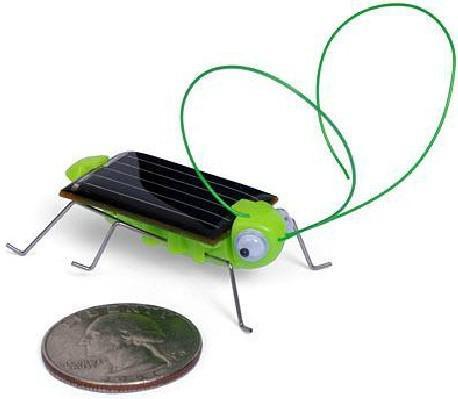 Fedex 2013 New Atacado Adorável Mini Energia Solar Alimentado Por Criança Brinquedo Do Criança Gafanhoto Atacado Atacado Navio LIVRE Solar Gafanhoto Inseto Bug Brinquedo Em Movimento