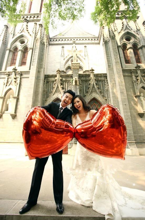 36 inch Red Heart Foil Balloons venda quente para fotografia de casamento tamanho grande balões romântico para proposta e brinquedos para crianças boa qualidade