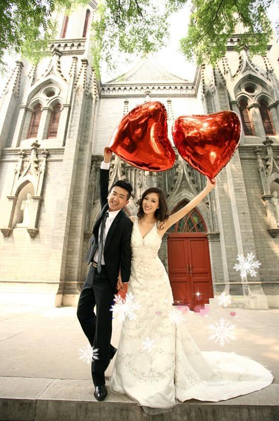 36inch Red Heart Foil Balloons Hot Sale for Wedding photography Big Size Balloons Romantic for Proposal and toys for kids Good Quality