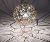 Modern Fashion WEB Network Silver Rose Gold Stainless Steel Pendant Lamp Dining Room Study Room Chandelier Dia 650mm