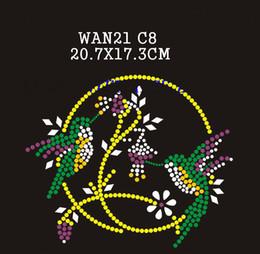 Wholesale Animal Insect Rhinestone Transfers - 2016 Hot sale Fashion WAN21 Animal & Insect rhinestone transfers Free Shipping