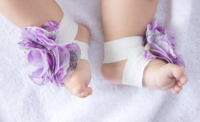 10 Paare = 20 Stück Mode Fuß Blume Fuß tragen Füße Band Baby Schuh Blume Fuß Krawatten Barfuß Socken Schuhe Blumen