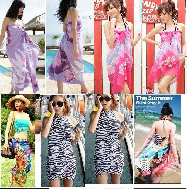b61542d5a040e 2019 New Arrival Sexy Pareo Dress Sarong Bikini Cover Up Scarf Wrap Swim  Swimwear Beach Beautiful Charming Sarong Swimwear Scarf Shawl Sarong From  ...