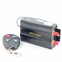 Wholesale car remote device - More Powerful !! New Arrival Vehicle Car GPS GSM GPRS Device Auto Tracker System +Remote Control TK103B K207
