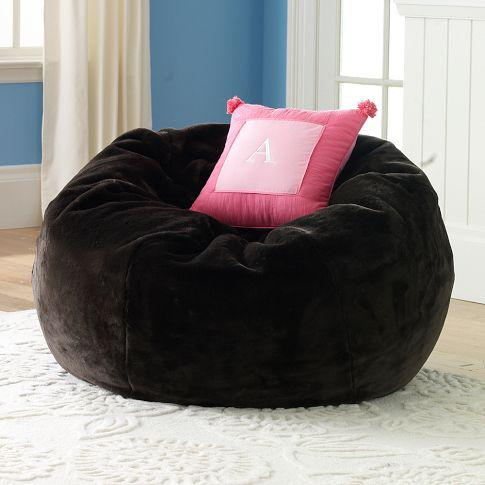 2018 Brown Sherpa Large Beanbags Modern Faux Fur Lounge