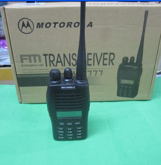 Hot Sale New 100 Mt777 Uhf Vhf Portable Handheld Fm
