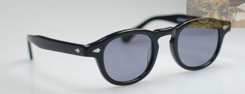 Retro Vintage Johnny Depp sunglasses clip on polarized black lens mens eyeglss
