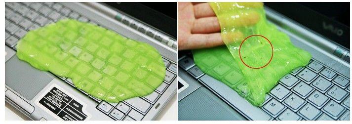 Brand new Composé de nettoyage de haute technologie super propre gelée gelée nettoyant clavier PC ordinateur portable livraison gratuite