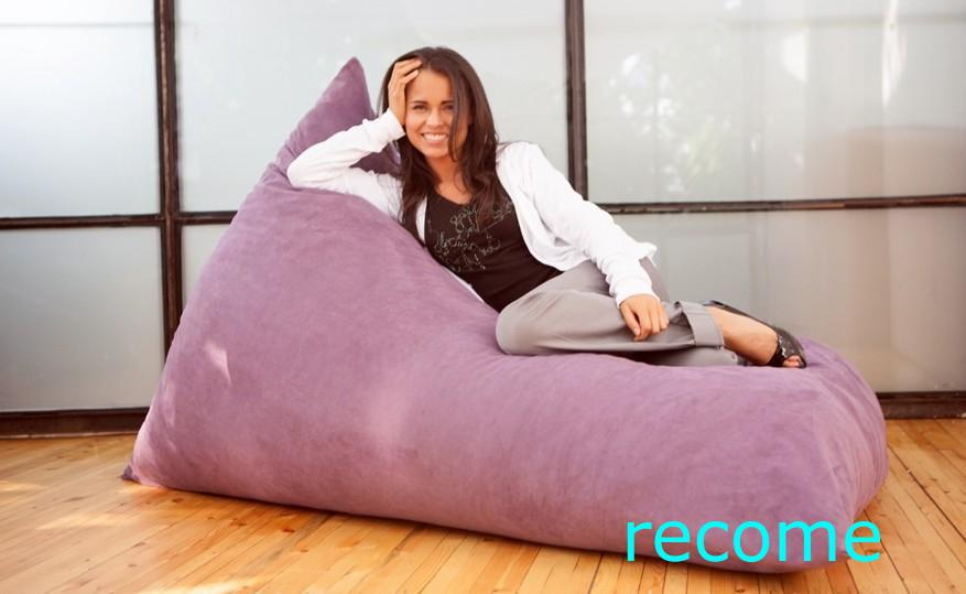 Best Extra Large Cozy Pivot Bean Bag Chair,Living Room Beanbag Sofa ...
