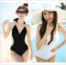 Wholesale Xxl Monokini - Traiangle Conjoined Swimwear Show Thin Bubble Hot Spring Bathing Suit,fashion bikini 2 colors can choose,10 pcs lot,Freeshipping