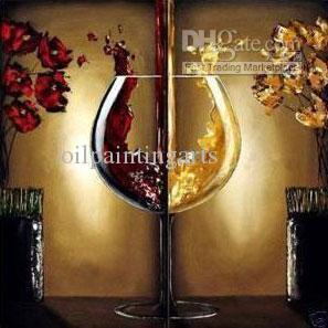 2018 Modern Abstract Large Cheap Canvas Wall Art Oil Painting On Wall Art  Drinking Glass Wine Cup Still L From Oilpaintingarts, $48.22 | Dhgate.Com