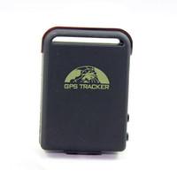 mini carros espiões venda por atacado-Mini Realtime Spy Car impermeável sistema GPS Tracker + carregador de carro + cabo USB K206