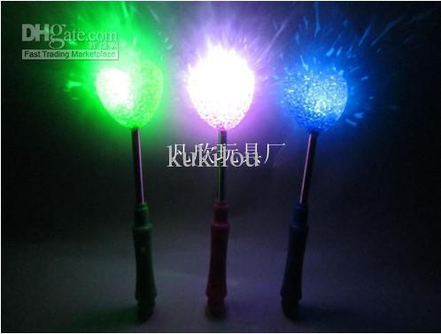 Rice lights particle spring light rice STICK simulation flash roses lights flower rice 120pcs/lot