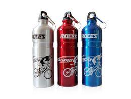 Wholesale Aluminium Road Bike - road mountain bike Bicycle Water Bottle 750ml aluminium alloy cycling bike bicycle water Bottle 3color 110g