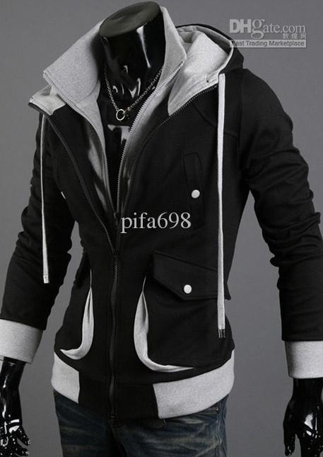 Nieuwe Assassin's Creed Desmond Style Velor Hoodie