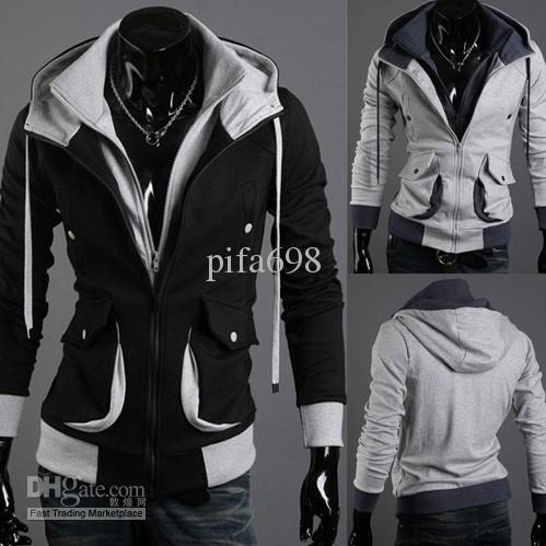 Felpa con cappuccio in stile Desmond Style di Assassin's Creed