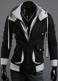 Wholesale Hoodies Woman Velour - NEW Assassin's Creed Desmond Style Velour Hoodie