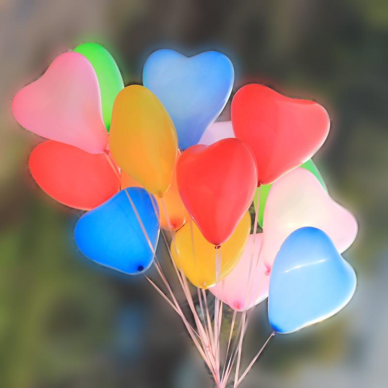 Mooie bruiloft kamer decoratie verdikking ballonnen hart vorm 8 soorten effen kleur ballonnen mooi voor bruiloft auto bar party kinderen speelgoed