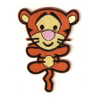 Wholesale Applique Patterns Kids - Wholesales 20 Pieces~Mixed 4 Pattern Cartoon Cutie Winnie And Friend Embroidered Applique Iron On Patch Kids Patch