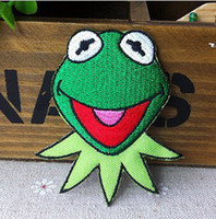 Wholesales~10 pieces Cartoon Cutie Frog (4. 5 x 7cm) Kids Pat...