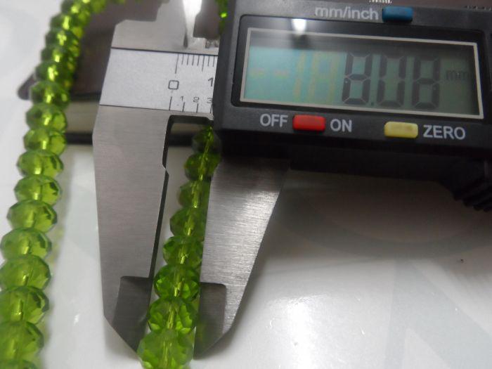 DIY مجوهرات بمناسبة التي اللون مختلطة 8MM سواروفسكي كريستال Rondelle فضفاض الخرز الكثير