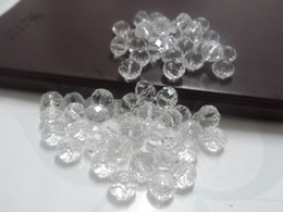 Wholesale Cleaning Crystal Jewelry - 10mm 72pc lot clean crystal round Rondelle loose Beads fashion DIY jewelry finding