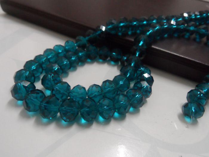 Navio livre! 72 pçslote 10mm cristais verdes escuros redondos de vidro solto Beads moda jóias DIY encontrar