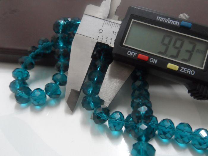 Liberi la nave! lotto 10mm cristalli verdi scuri vetro rotondo perline moda trovare gioielli fai da te