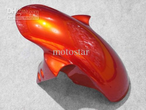 Kit de carénage orange noir POUR Yamaha YZF R6 2003 2004 2005 YZF-R6 03 04 05 YZFR6 600 03-05