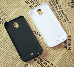 Wholesale S4 External Backup Case - Drop Shipping 3200mah External Backup Battery Case For Samsung Galaxy S4 Siv I9500 Power Pack Backup Battery Case for s4