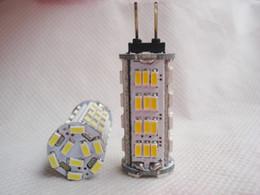 Wholesale G4 Bulb Pure White 12v - G4 57 SMD 3014 LED Pure White Lights 6000k and 3000K corn Spot Light Bulbs 12v DC 3w 210lm Crystal lamp DC AC 12V