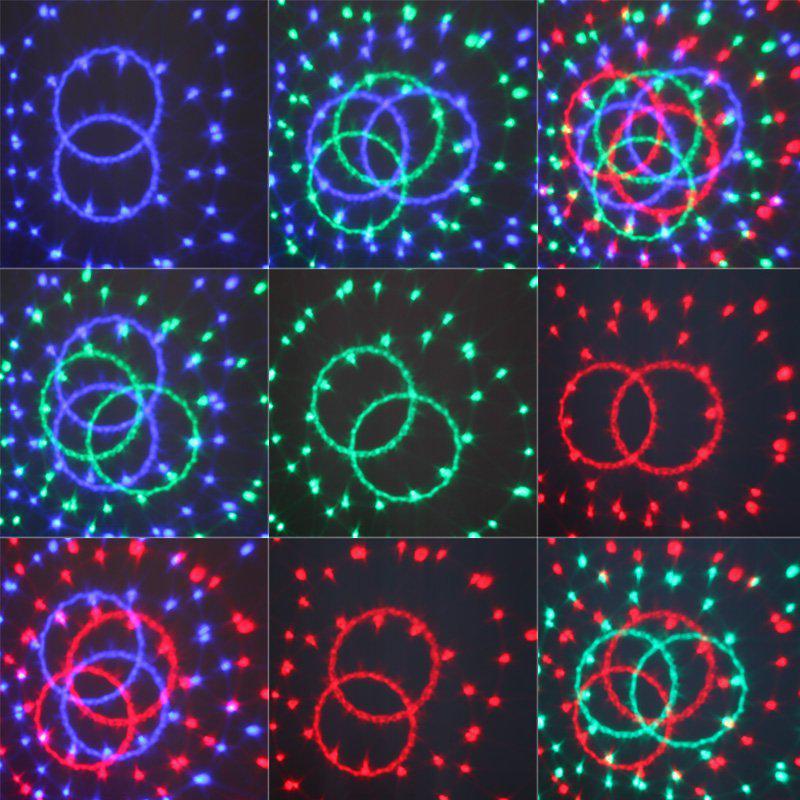 Luce di cristallo di DMX512 di controllo digitale DMX di Manica di alta qualità a 6 canali Luce magica DMX della discoteca DJ della luce di effetto della palla Commercio all'ingrosso libero di trasporto