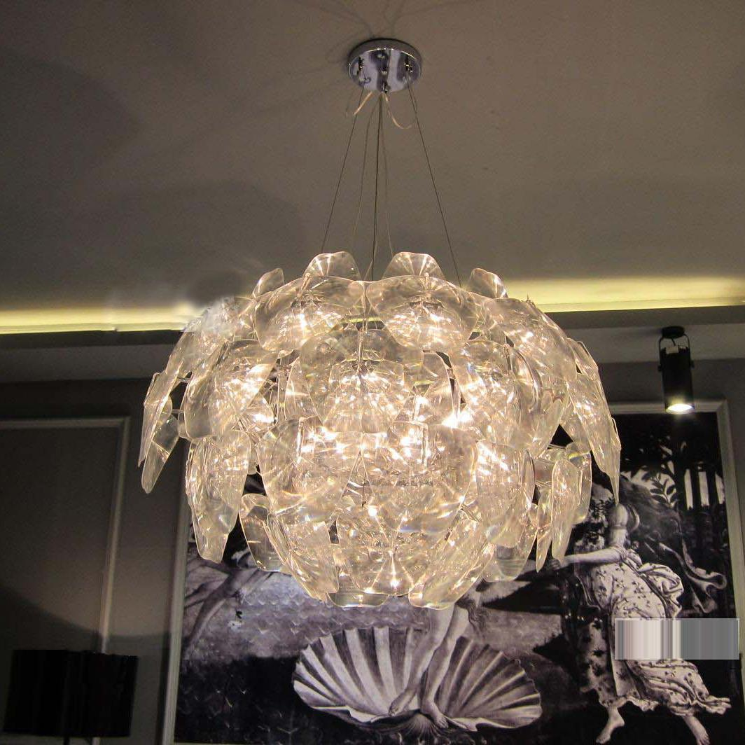 new modern lighting. New Modern Hope Apple Pendant Lamp Dining/Living Room Suspension Hanging Light Bedroom Clear Acrylic Study Lobby Chandelier Designer Lights Lighting