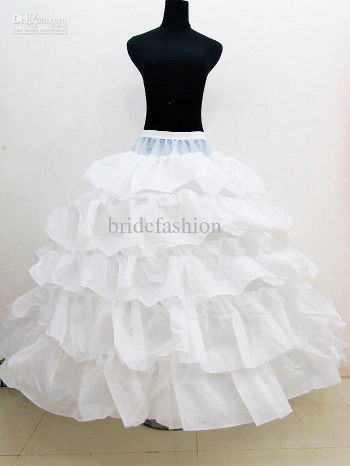 Big Discount!!2013 Hot Sale Ball Gown Cake Layers White New Style Peticoat