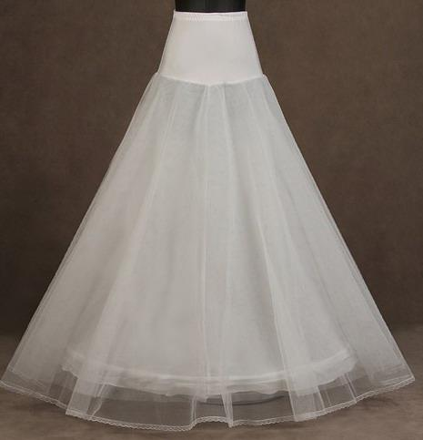 !!2013 Hot Sale A-line White New Style Peticoat
