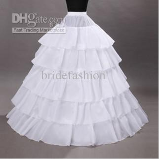 !!2013 Hot Sale Ball Gown Layers White New Style Peticoat