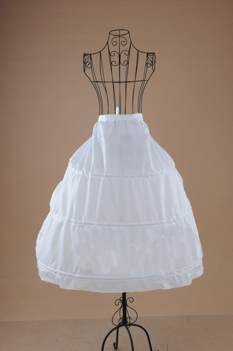 !!2013 Hot Sale Ball Gown New Style White Peticoats