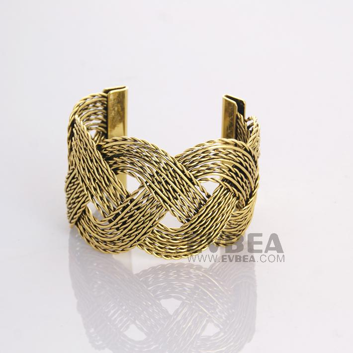 Name Brand Bracelets: Evbea Brand Name Jewelry Bracelet Burnished Gold Plated
