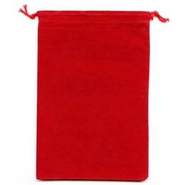 2019 burgunder geschenk taschen 100 Stück roter Velour Samtbeutel Geschenkbeutel Schmuckbeutel 9 X 12 cm (Schwarz / Blau / Burgund)