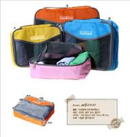 Wholesale Travelus Bag Wholesale - Cheap Travel Check Organizer Traveling Bag in Bag Mesh pouch storage bag travelus size L,free shipping