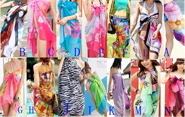 58d423ddc2 2019 Sexy Pareo Dress Sarong Bikini Cover Up Scarf Wrap Swim Swimwear Beach  Beautiful Charming From Womens World, $4.92 | DHgate.Com