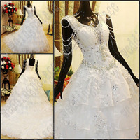 Wholesale Celebrity Wedding Ball Gowns - white chiffon gorgeous elegant and precious party dress prom dresses Special Occasion Dresses Celebrity Wedding Dresses