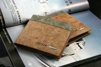 Wholesale Cheap Handbags Wholesale Free Shipping - Cheap Handbags Men Wallet Nuck Leather Father Day Vertical Horizontal Style Mix Order 10pcs Lot Free Shipping 0517B19