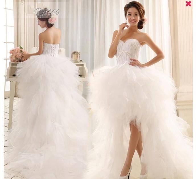 2013 personnalisé élégant tribunal asymétrique train chérie dentelle Paillette robe de mariée plage Dressse