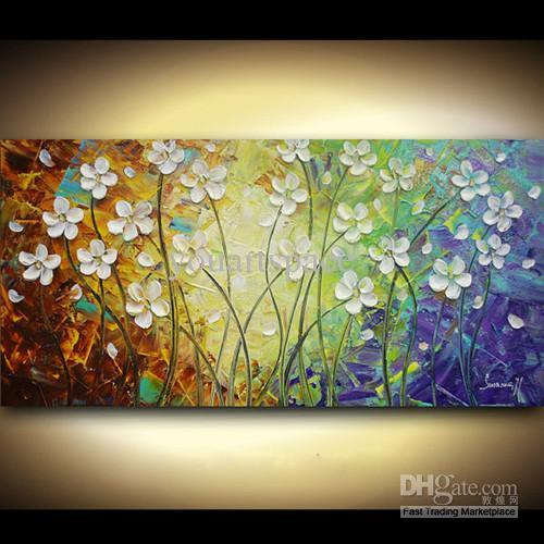 2018 Modern Abstract Large Cheap Large Wall Art Canvas Oil Painting ...