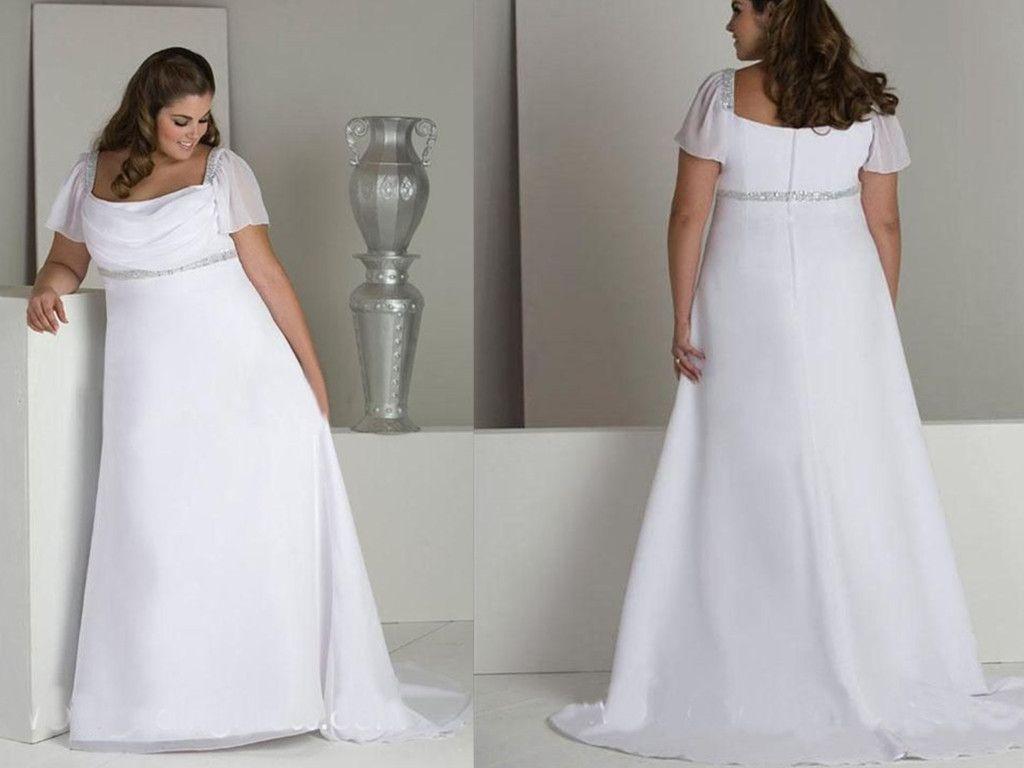 plus size wedding dresses for older brides | Wedding