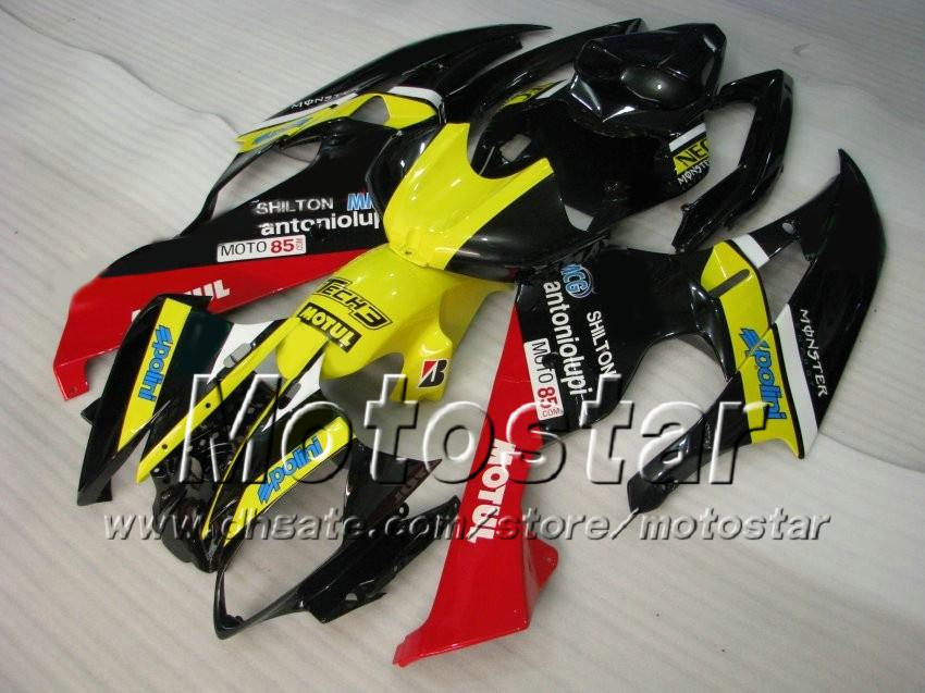 Kit de carenado Racing 7 regalos para YAMAHA 2006 2007 YZF-R6 06 07 YZFR6 06 07 YZF R6 YZFR600 mezcla de colores carenados personalizados