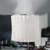 Modern Silk Straight Barrel-Style Cage Bubble Lamp Lantern Flos Pendant Light Chandelier Living Room Lamp Dia 39cm